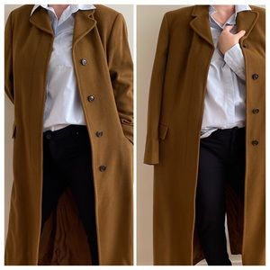 Authentic Burberry Cashmere Wool Coat